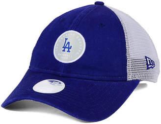 New Era Women's Los Angeles Dodgers Washed Trucker 9TWENTY Cap