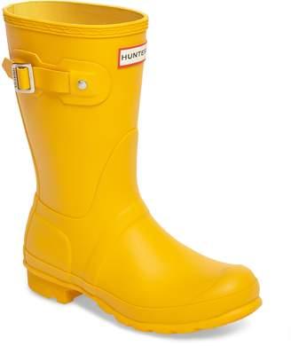 Hunter Short Waterproof Rain Boot
