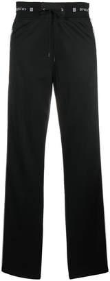 Givenchy sidebands track pants