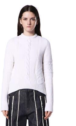 Diesel Black Gold Diesel Sweaters BGGGR - White - M