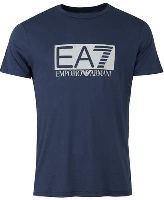 Ea7 Train Visibility Centre Logo T-shirt