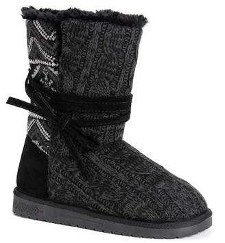 Muk Luks Clementine Faux Fur Lined Boot