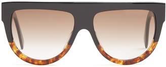 Celine Shadow D-frame acetate sunglasses