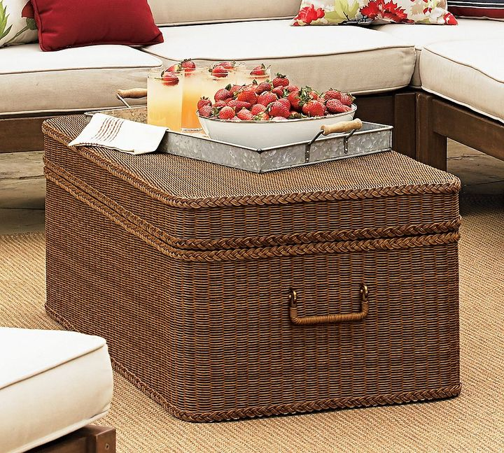Palmetto All-Weather Wicker Trunk