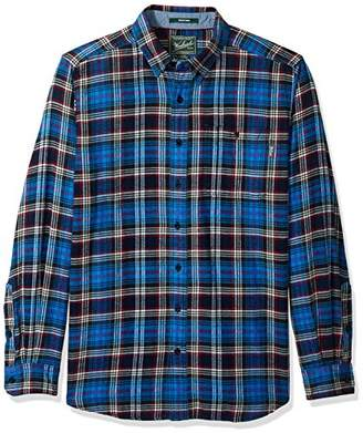 Woolrich Men's Tall Size Trout Run Flannel Shirt Long