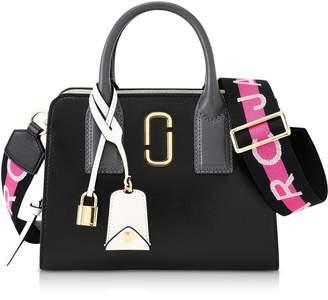 Marc Jacobs Black Logo Strap Little Big Shot Tote Bag