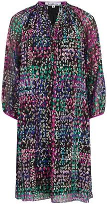 Libelula Hartford Dress Golden Dotty Silk