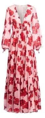 Freya Silk Georgette Maxi Dress