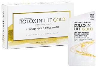 Dermarche Labs Roloxin Lift Instant Smoothing Mask In 24k Gold