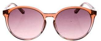 Linda Farrow The Row x Tinted Round Sunglasses