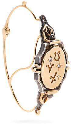 Elie TOP Diamond & yellow-gold Poissarde single earring
