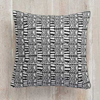 Urban Print Self-Launch Square Pillows