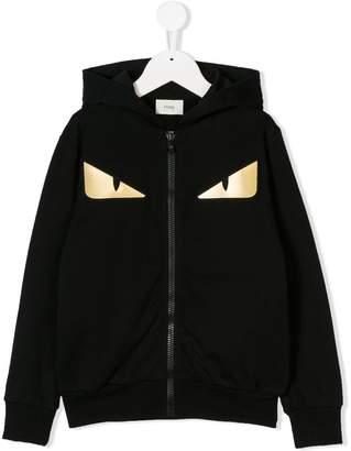 Fendi Monster print hoodie