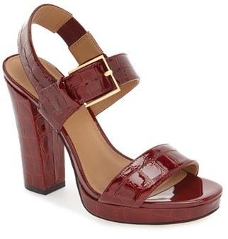 Women's Calvin Klein 'Bette' Block Heel Sandal $139.95 thestylecure.com