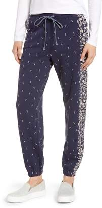 Lucky Brand Placed Floral Jogger Pants