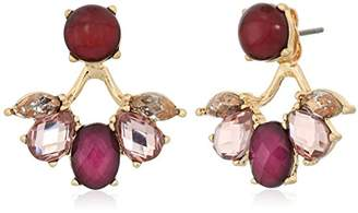 lonna & lilly Gold Tone Stone Filter Earring Jacket