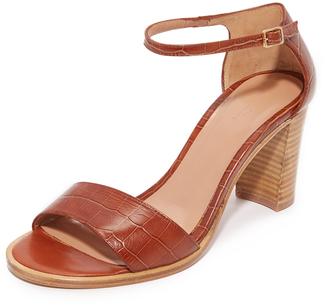 A.P.C. Clea Sandals $400 thestylecure.com