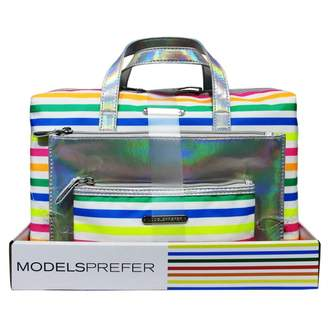 Models Prefer Rainbow Summer Stripe Duffle Set 3 pack