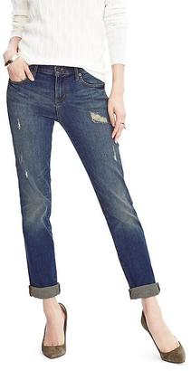 Distressed Straight Jean $98 thestylecure.com