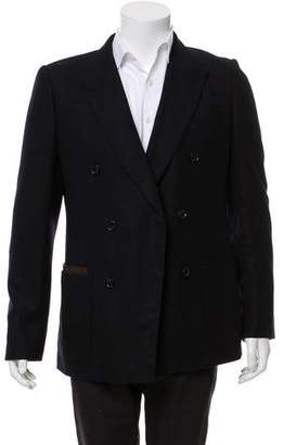 Louis Vuitton Double-Breasted Cashmere Blazer