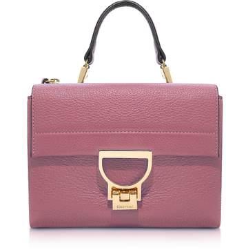 Coccinelle Arlettis Grained Leather Mini Bag w/Shoulder Strap
