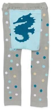 Doodle Pants® Seahorse Leggings in Teal