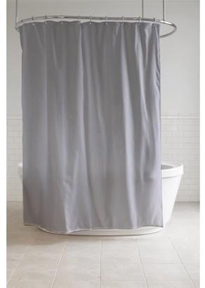 "Splash Home Diamond Polyester Fabric Shower Curtain, 70"" x 72"", Grey"