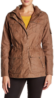 Barbour Long Sleeve Hooded Parka $379 thestylecure.com