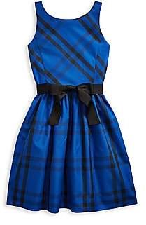 Ralph Lauren Little Girl's & Girl's Plaid Fit & Flare Dress