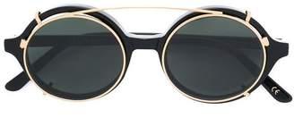 Han Kjobenhavn round frame sunglasses
