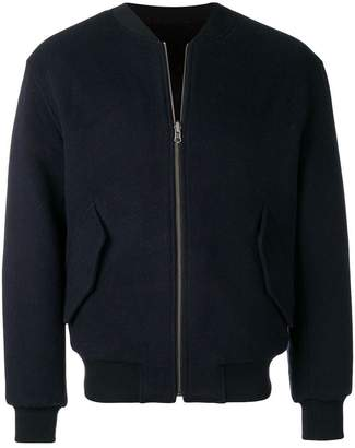 Liska fur lined bomber jacket