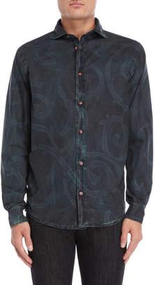 Armani Jeans Printed Regular Fit Shirt
