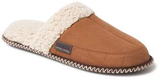 Dearfoams Men's Microsuede Quilted Scuff Slippers