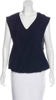 Ramy Brook Sleeveless Surplice Top