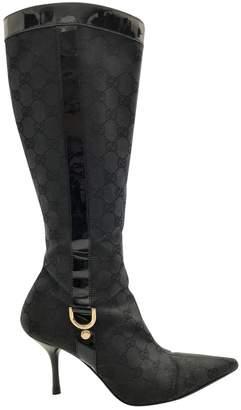 Louis Vuitton Cloth boots