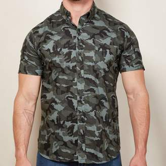 Blade + Blue Blue, Gray & Black Camo Print Shirt - JOEY