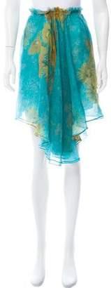 Rodarte Printed Knee-Length Skirt