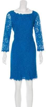 Diane von Furstenberg Lace Mini Dress