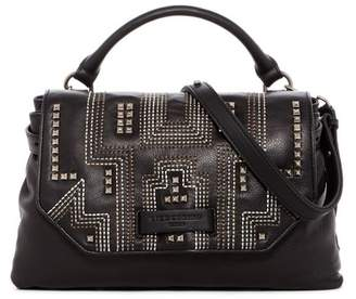 Liebeskind Berlin Studded Top Flap Leather Satchel