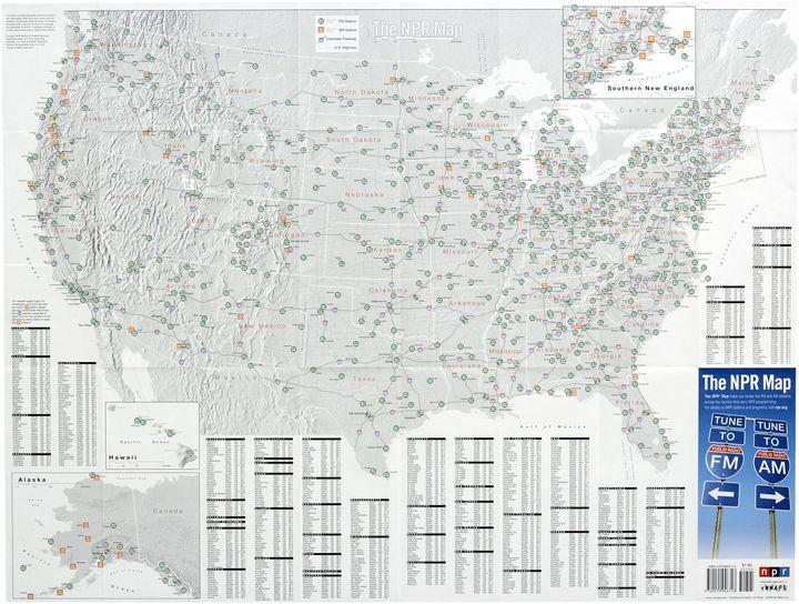 The NPR Map