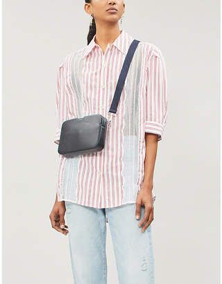 Sandro Alexia striped cotton shirt