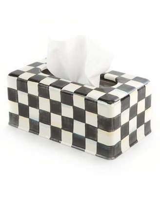 Mackenzie Childs MacKenzie-Childs Courtly Check Long Tissue Box