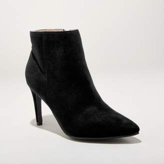 A New Day Women's Norelle Microsuede Stiletto Pointed Bootie