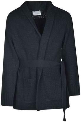 Laneus Belted Cardi Coat