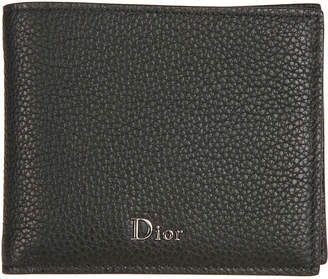 Christian Dior Logo Plaque Wallet