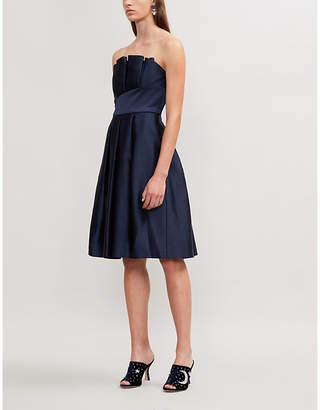 Ted Baker Pippaa pleated satin dress