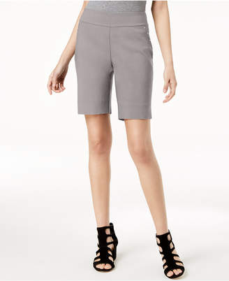 INC International Concepts I.n.c. Stud-Trim Bermuda Shorts, Created for Macy's