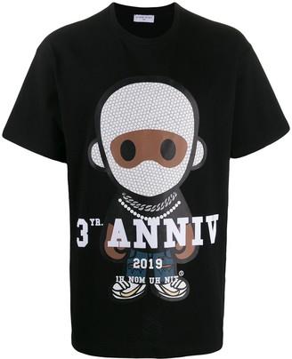 Ih Nom Uh Nit printed crew neck T-shirt