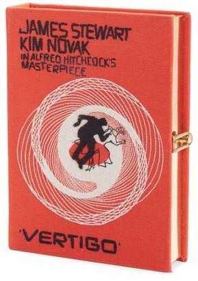 Olympia Le-Tan Hitchcock - 'Vertigo' Book Clutch - Orange $1,650 thestylecure.com