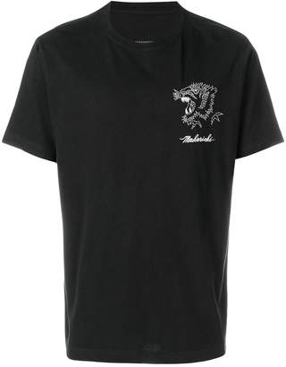 MHI embroidered tiger T-shirt